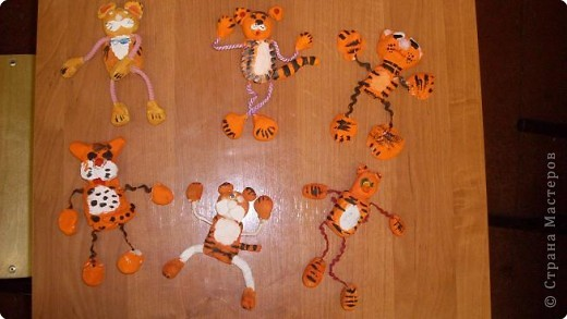 Лепка: А вот и мы тигрята