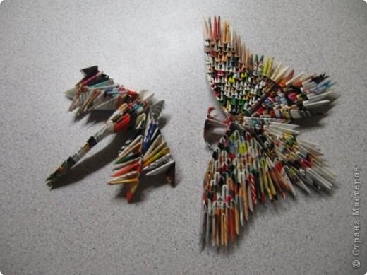 Оригами модульное Птички и Ко.
