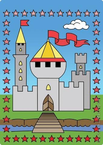 Квиллинг: Сказочный замок! фото 4