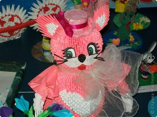 Розавая кошка