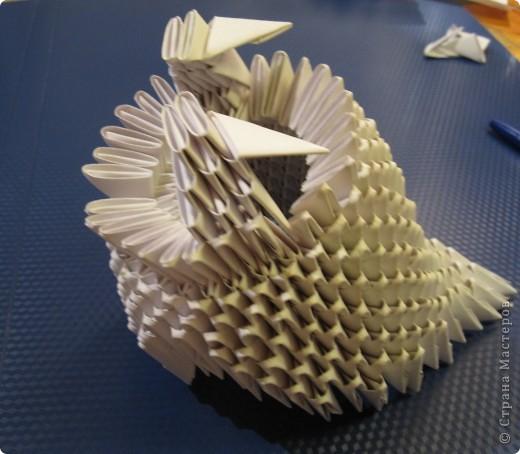 Мастер-класс Оригами китайское модульное Очень умная сова МК фото 11