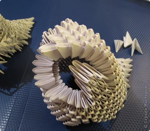 Мастер-класс Оригами китайское модульное Очень умная сова МК фото 12