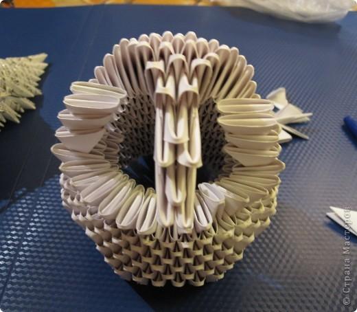 Мастер-класс Оригами китайское модульное Очень умная сова МК фото 13