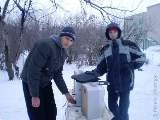 """Кроме традиционной школьной """"тёплой"""" ёлки мы с родителями моих первоклассников решили преподнести новогодний сюрприз """"Ёлка в школьном саду"""". фото 16"""