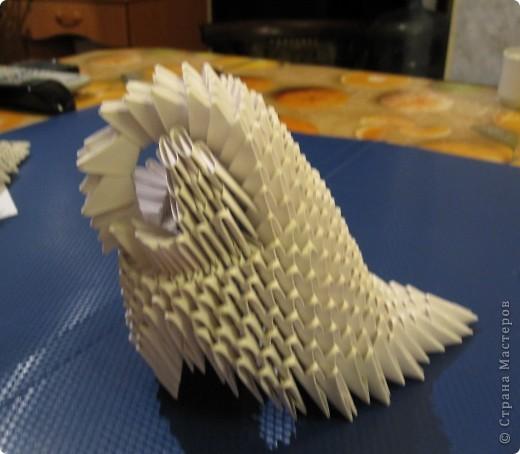 Модульное оригами умная сова мк