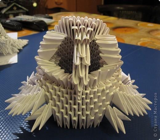 Мастер-класс Оригами китайское модульное Очень умная сова МК фото 17