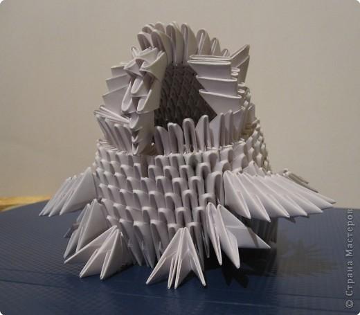 Мастер-класс Оригами китайское модульное Очень умная сова МК фото 20