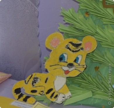 """Приглашаю вас  полюбоваться тиграми, сделанными учащимися нашей школы Это """"солнышко"""" связала Сысоева Яна фото 3"""