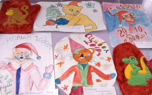 """Приглашаю вас  полюбоваться тиграми, сделанными учащимися нашей школы Это """"солнышко"""" связала Сысоева Яна фото 16"""