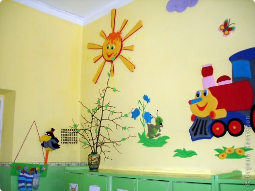 Оформления групп в детском саду своими руками фото