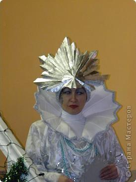 Бумагопластика: Снежная королева фото 1