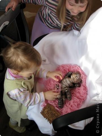 Шитьё: Кошка-балдежница :))))) фото 8