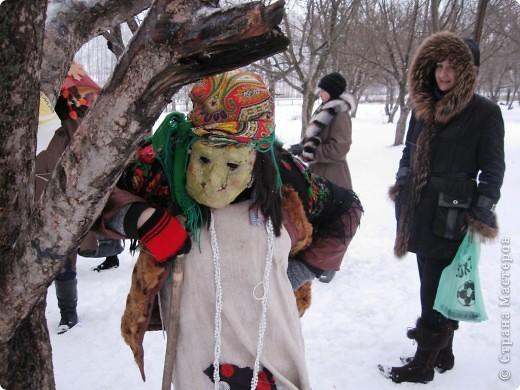 """Кроме традиционной школьной """"тёплой"""" ёлки мы с родителями моих первоклассников решили преподнести новогодний сюрприз """"Ёлка в школьном саду"""". фото 3"""