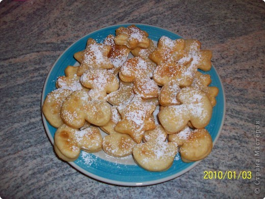 Печенье во фритюре. фото 4