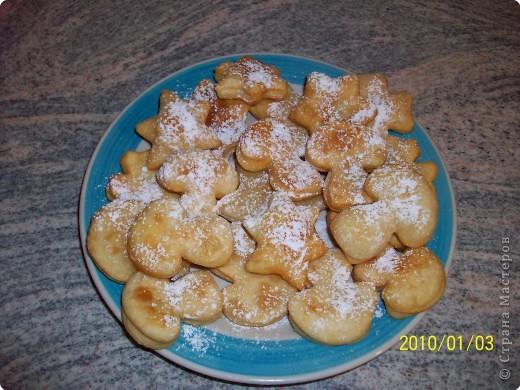 Печенье во фритюре. фото 1