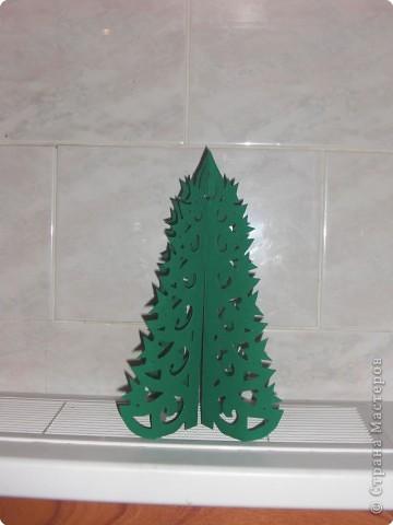 Оригами модульное: Ёлочки фото 2