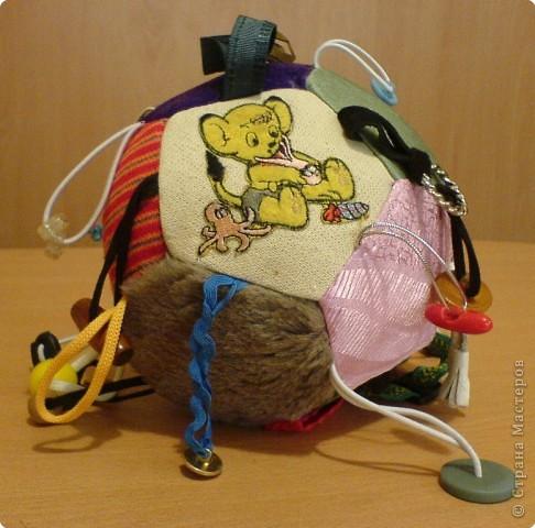 Шитьё: Мячик-развивалка фото 2