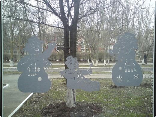 Схемы  взяла с сайта Серовых http://vs-origami.narod.ru/snowflakes.htm#year2010 похожие снеговики есть у  Евгеши фото 1