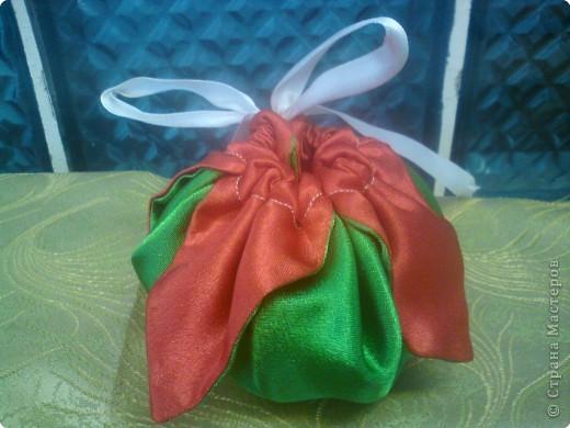 Предлагаю Вашему вниманию упаковку для небольшого подарка вот такой  мешочек. фото 2