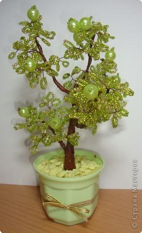 Бисероплетение деревья яблоня - Украшение своими руками.