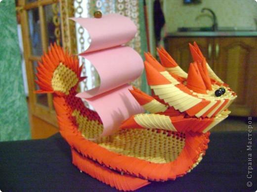 модульное лодка-дракон