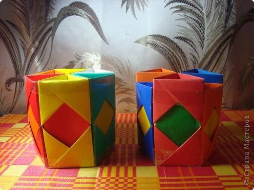 Органайзер из бумаги своими руками оригами