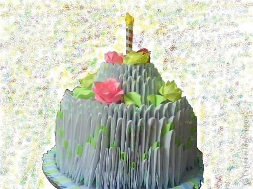 Оригами поделка на день рождения
