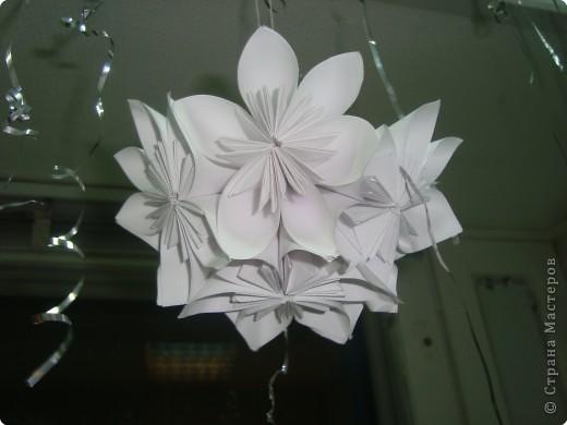 принимайте мою пробу пера в модульном оригами.