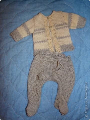К Новому году и для больших кукол я решила связать обновки...  фото 2