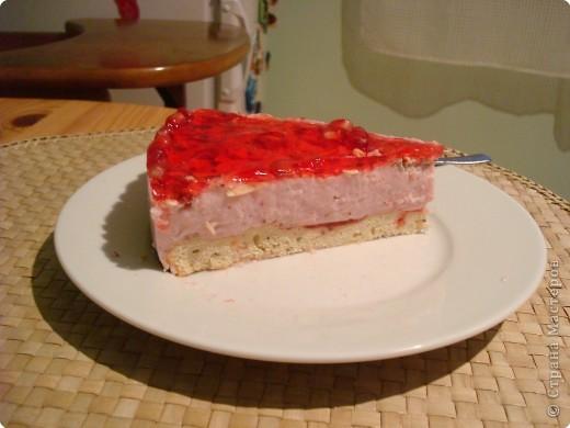 Рецепт кулинарный: Йогуртовый торт фото 2