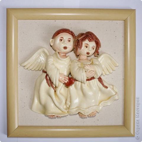 Поделка ангел своими руками из соленого теста