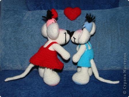 Вязание крючком: Вот это любовь... фото 5