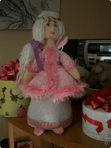 вот такая куколка связалась по он-лайну на форуме РР. Спасибо девочкам за подробное толкование.