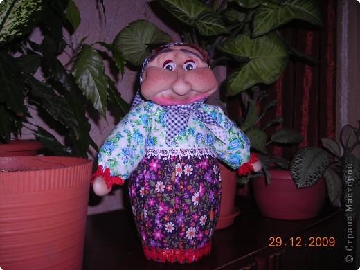 Своих кукол я никому не дарю,так как в них вложена  душа и они все с именами. А эту я  сделала специально для подарка подруге на Новый год. фото 2