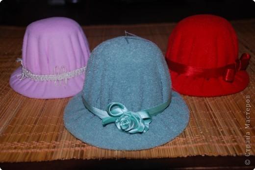 Шитьё: продолжение шляпок :) фото 3