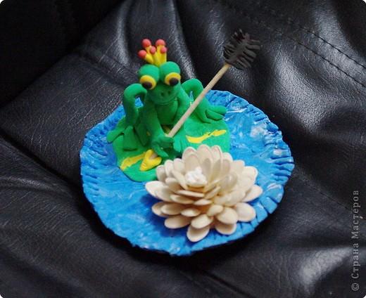 Идея работы - мамАня, выполнил Василий 7 л (торцевание, цветы из салфеток) фото 2
