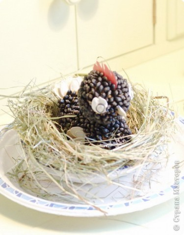 Идея работы - мамАня, выполнил Василий 7 л (торцевание, цветы из салфеток) фото 3