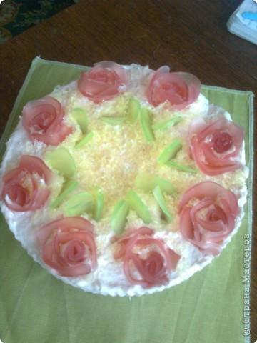 Вот такой тортик мы сейчас попробуем сделать... фото 1