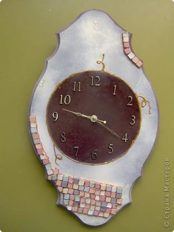 Декупаж: Время - вперед!!!