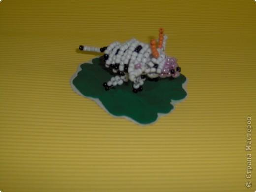 Бисероплетение: Коровушка фото 2