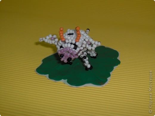 Бисероплетение: Коровушка фото 1