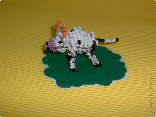 Бисероплетение: Коровушка фото 3