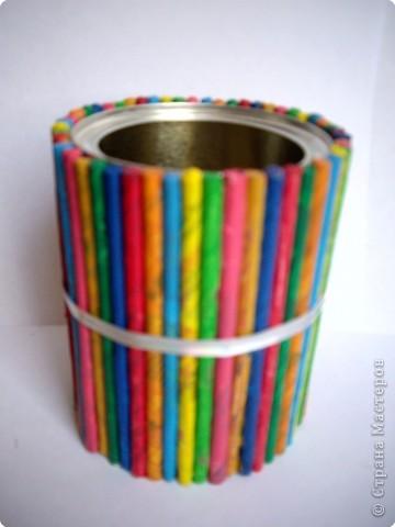 Сделать своими руками стаканчик для ручек и карандашей своими руками
