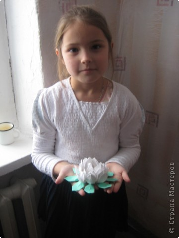 Оригами наши первые цветы бумага