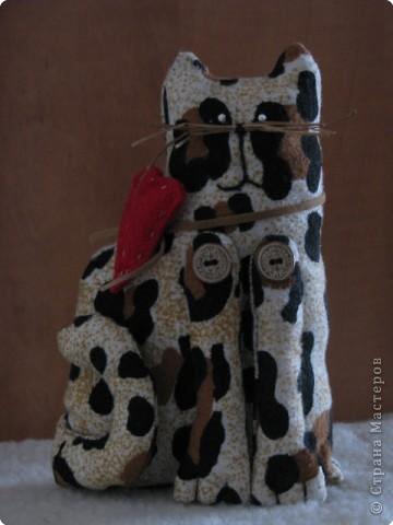 Шитьё: мартовский кот(Тильда) фото 2
