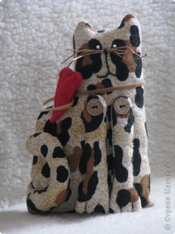 Шитьё: мартовский кот(Тильда) фото 1