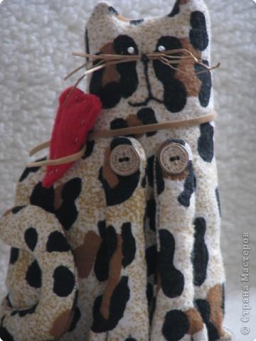 Шитьё: мартовский кот(Тильда) фото 4