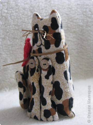 Шитьё: мартовский кот(Тильда) фото 3