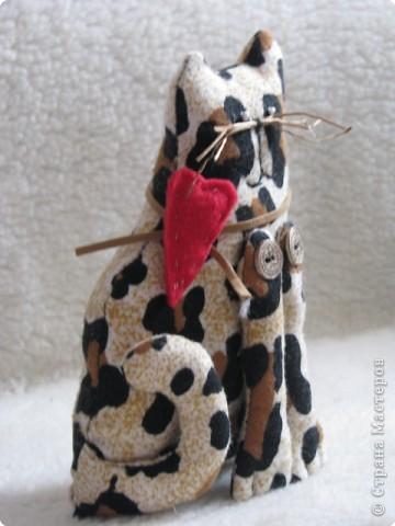 Шитьё: мартовский кот(Тильда) фото 5