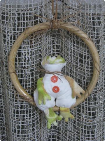 Шитьё: царевна лягушка(Тильда) фото 2